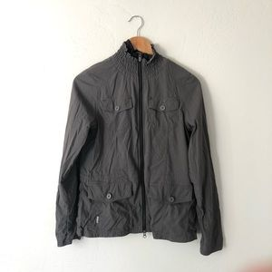 Lole Grey Zip Up Jacket